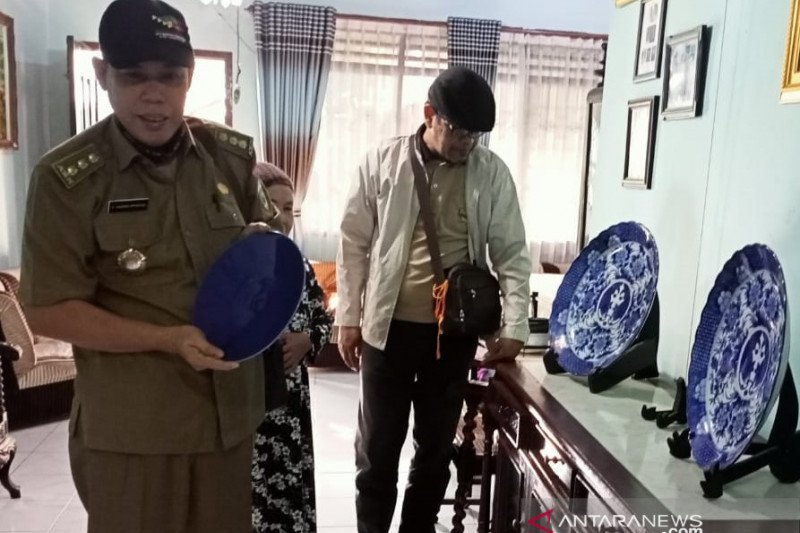 Pengelola museum Balaputra  Dewa tambah koleksi dari hibah masyarakat
