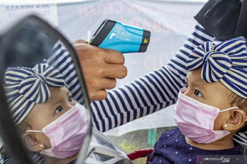 Dua kasus positif COVID-19 di Bulungan, salah satu anak-anak