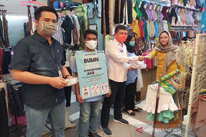 Satgas Bencana Nasional BUMN bagikan ribuan masker kepada masyarakat Kalteng