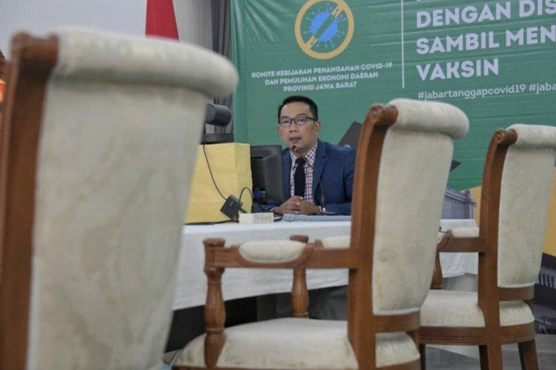 Gubernur Jabar dorong percepatan pembangunan akses penghubung Kereta Cepat Jakarta-Bandung