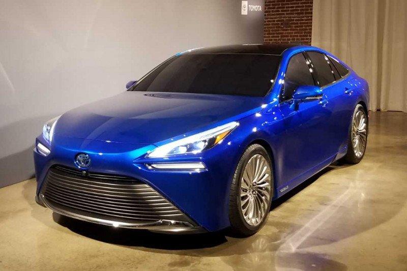 Toyota Mirai generasi kedua tampil perdana Desember