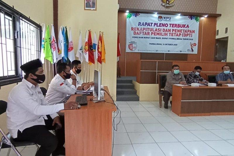 KPU Kabupaten Purbalingga tetapkan DPT sebanyak 743.546 pemilih