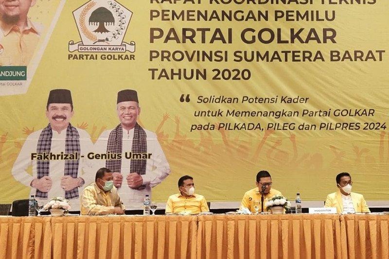 DPP nilai Sumbar basis pemenangan Golkar secara nasional