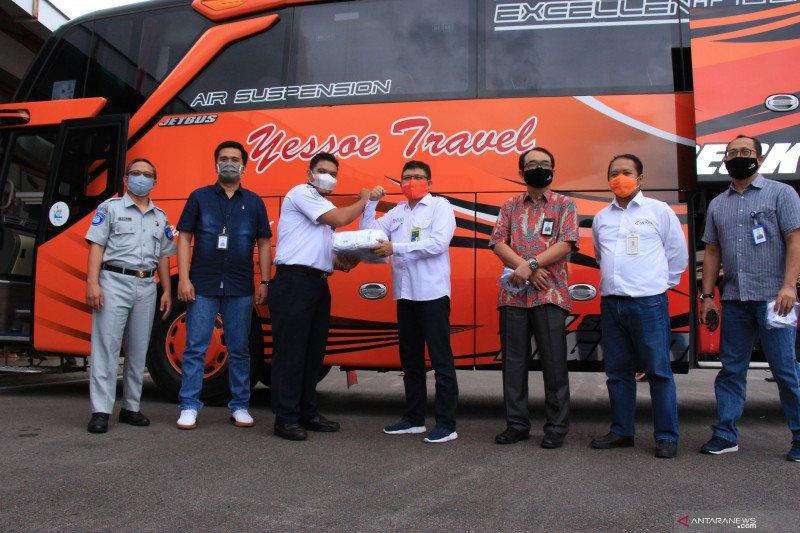 Satgas Bencana Nasional BUMN Kalteng terus kampanyekan penggunaan masker