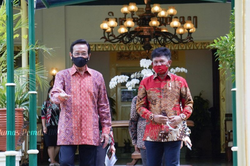 Menkominfo dan Gubernur DIY membahas rencana digitalisasi aksara Jawa