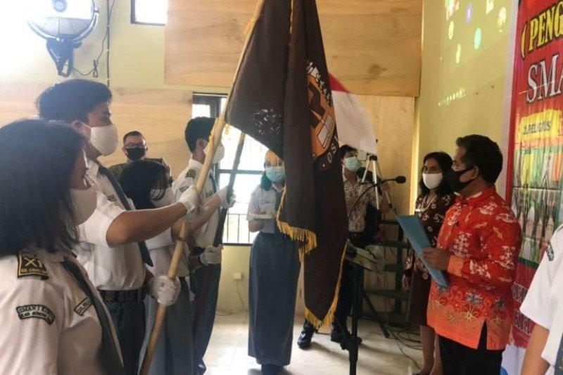 SMA di Gumas lakukan pemilihan Ketua OSIS secara online
