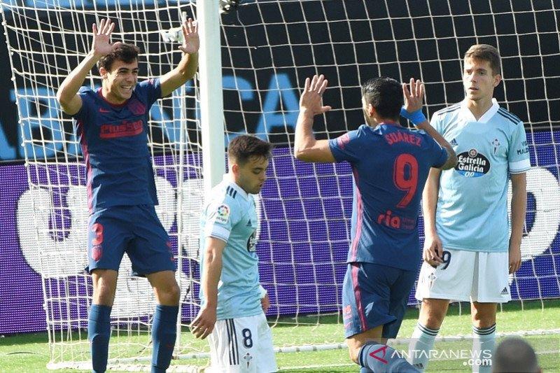 Suarez membantu Atletico Madrid kembali ke jalur kemenangan
