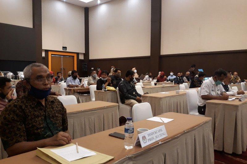 KPU Sulteng  libatkan OPD-Paslon bahas daftar pemilih pilkada