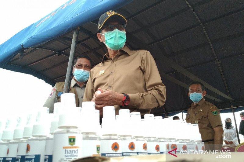 Gubernur Sumbar minta tenaga kesehatan rutin jalani tes usap