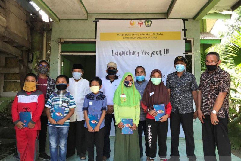 Mata Garuda LPDP siapkan internet untuk pendidikan di Kabupaten Gowa