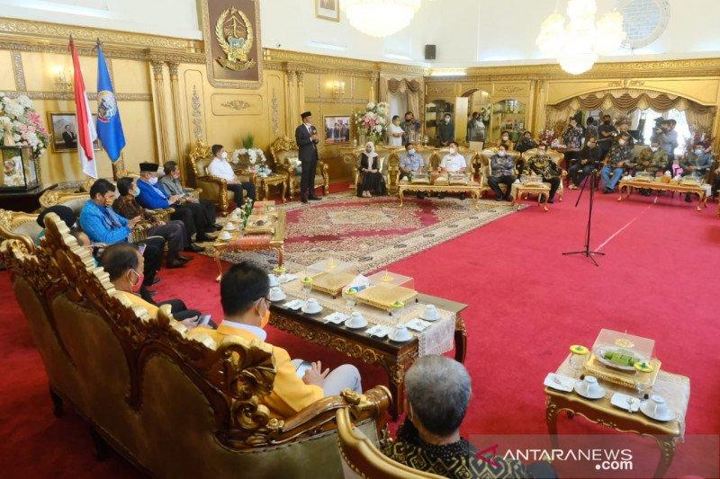 Gubernur Sulsel terima saran UU Cipta Kerja dari 23 Rektor PTN/PTS