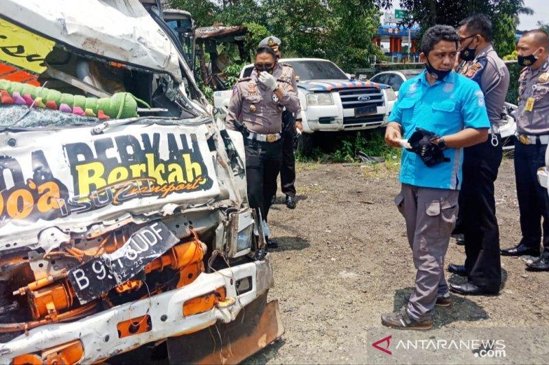 Kronologi kecelakaan truk maut di Puncak Bogor,  pengemudi tak punya SIM