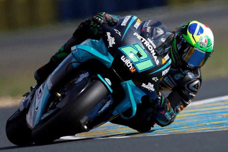 Suhu dingin Aragon, Morbidelli yakin Yamaha paling sedikit menderita