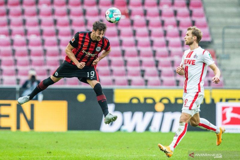 Cologne hentikan rentetan kemenangan beruntun   Eintracht Frankfurt