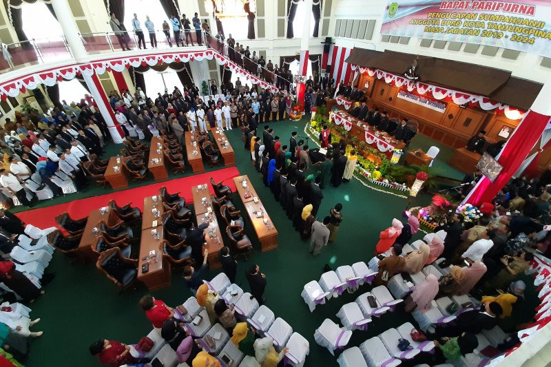 Pengesahan sejumlah raperda di Tanjungpinang terimbas COVID-19