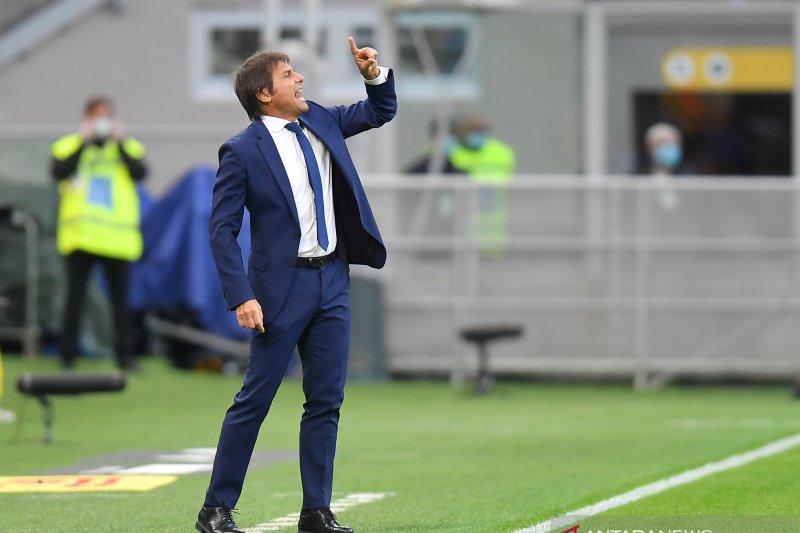 Antonio Conte sebut AC Milan beruntung atas timnya