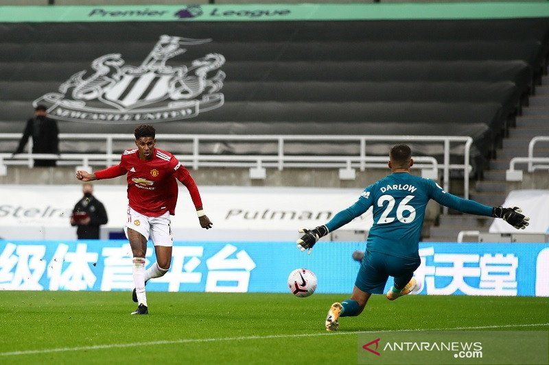 Manchester United hempaskan Newcastle 4-1 berkat kesuburan 10 menit akhir