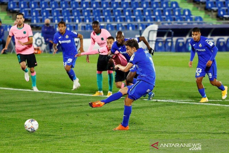 Barcelona tumbang di kandang Getafe 0-1