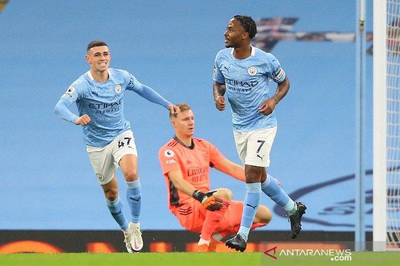 Manchester City tawarkan kontrak baru untuk Raheem Sterling