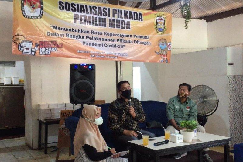 KPU Bandarlampung berdayakan relawan demokrasi sosialisasikan Pilkada