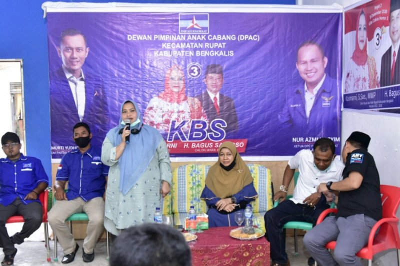 Kampanye di Rupat, Kasmarni prioritas perbaikan ekonomi dan pariwisata