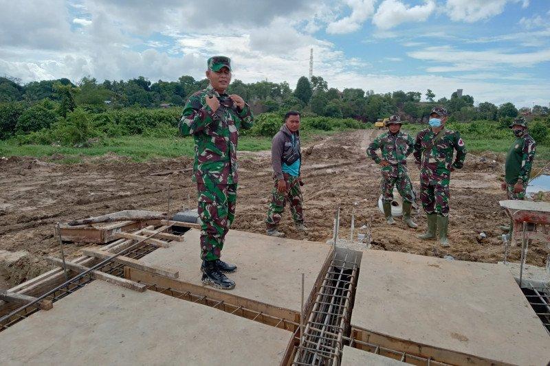 Satgas TMMD bangun jembatan di Tarakan capai target dan berkualitas