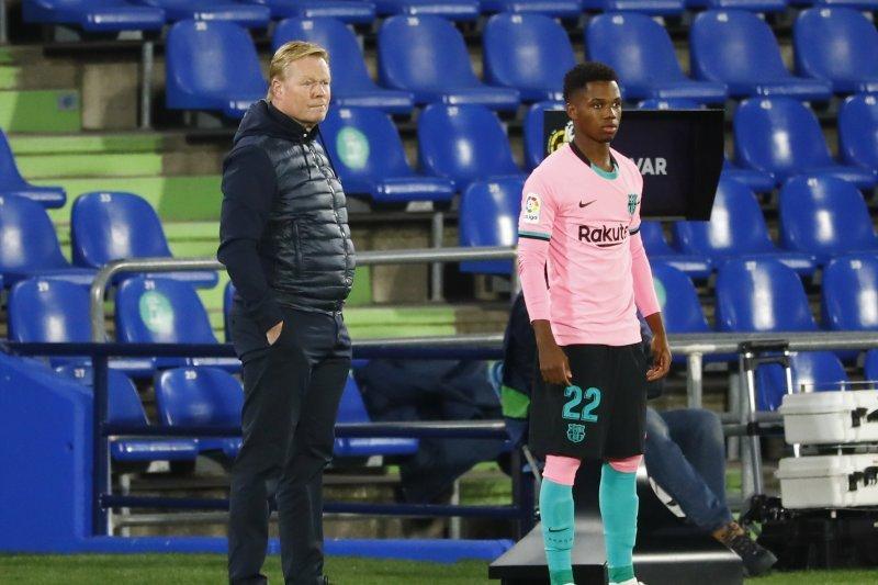 Pelatih Ronald Koeman keluhkan kurangnya rasa hormat dari pemain Getafe