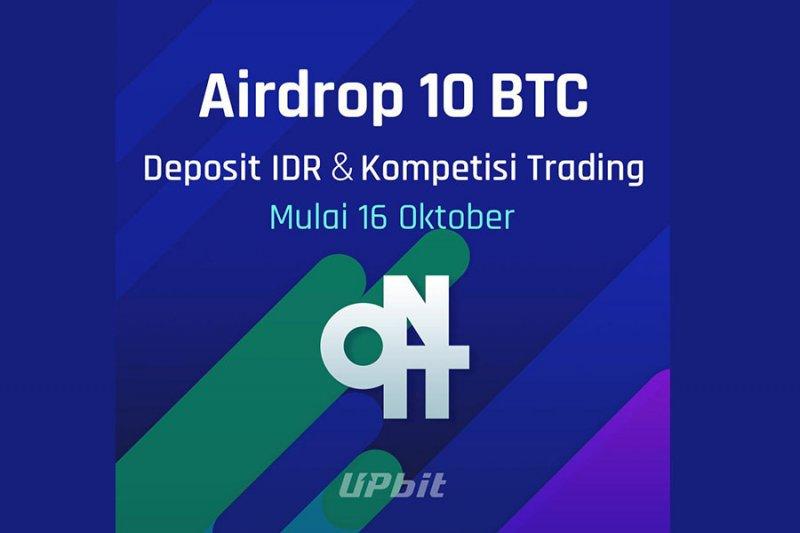 UpBit akan bagikan 10 Bitcoin pada penggunanya
