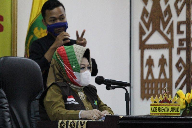 Positif COVID-19 Lampung bertambah 42 kasus total 1.340 kasus