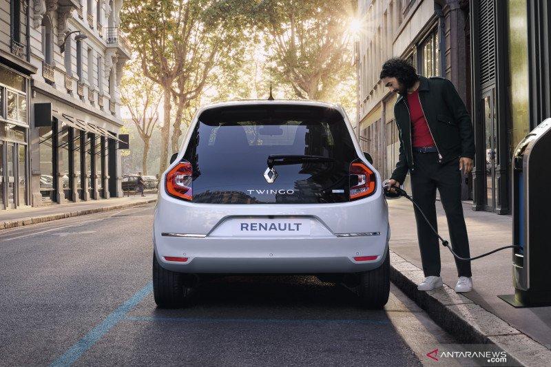 Hanya perlu cas seminggu sekali, Renault Twingo listrik