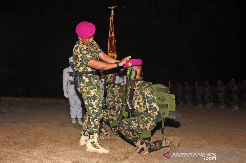 Dankorp Marinir kukuhkan 345 bintara dan tamtama remaja