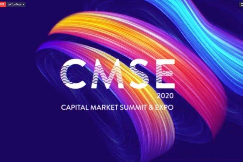 Tingkatkan literasi dan inklusi pasar modal, CMSE 2020 digelar secara virtual