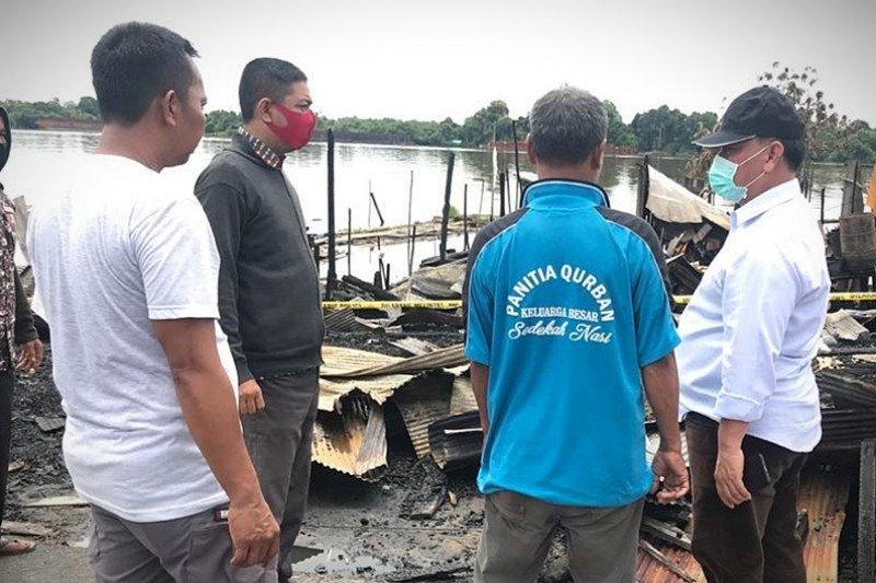 Halikinnor temui korban kebakaran Pasar Sejumput, relawan buka posko