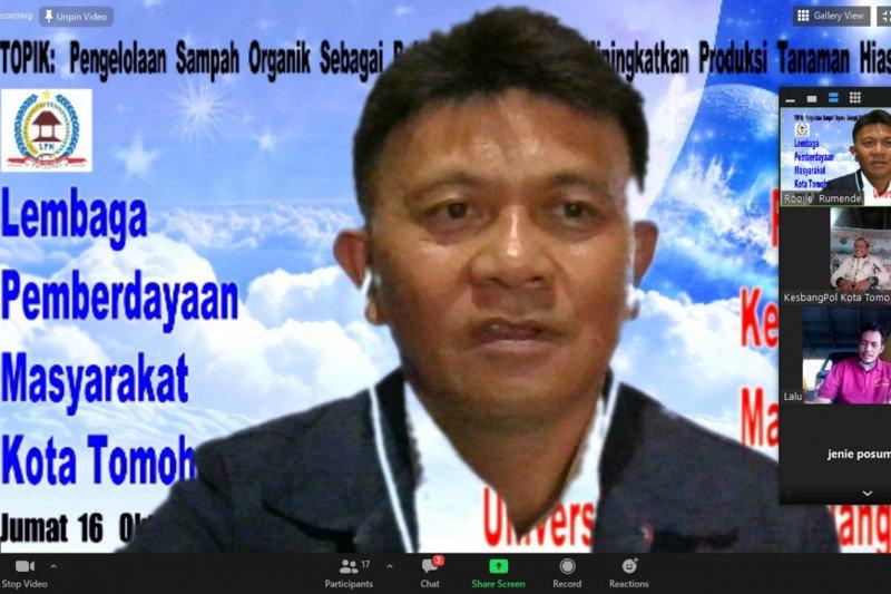 LPM Tomohon-Unsrat berdialog bahas pengelolaan sampah organik