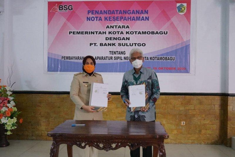 Bank SulutGo-Pemkot Kotamobagu teken MoU layanan pembayaran gaji