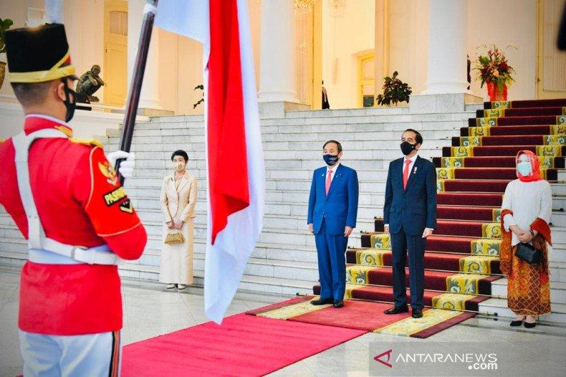 PM Jepang kunjungi Indonesia, Jokowi sebut simbol komitmen kemitraan strategis