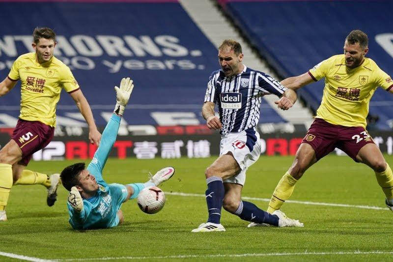 Imbangi West Brom 0-0, Burnley petik poin pertama musim ini