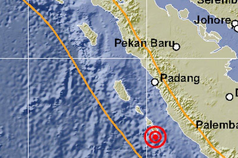 Pakar gempa : Tetap waspada, dua pertiga energi gempa segmen Siberut  belum keluar