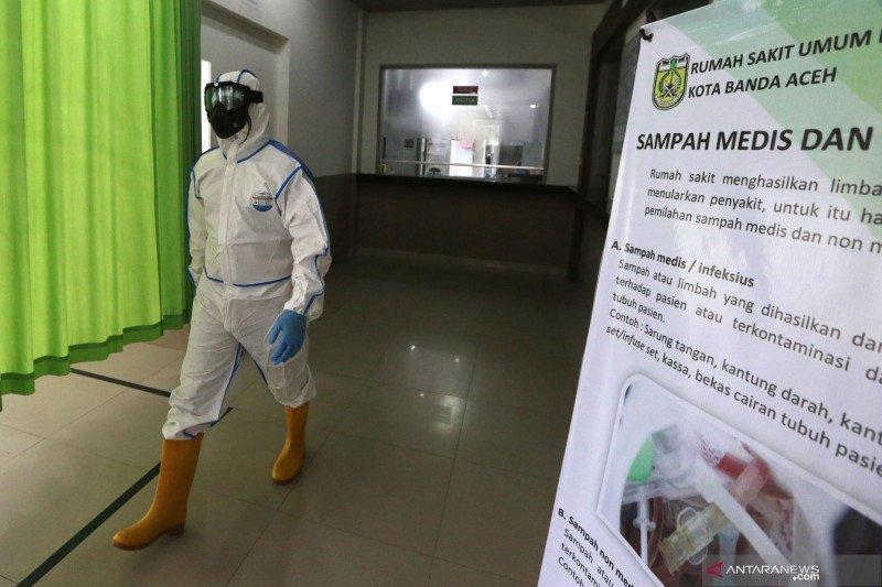 15 dokter positif COVID-19 di Aceh masih diisolasi