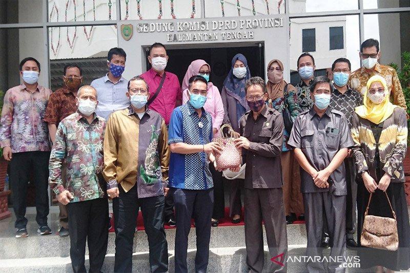 DPRD Kalteng terima kunker Tim Banggar DPRD Banjarmasin