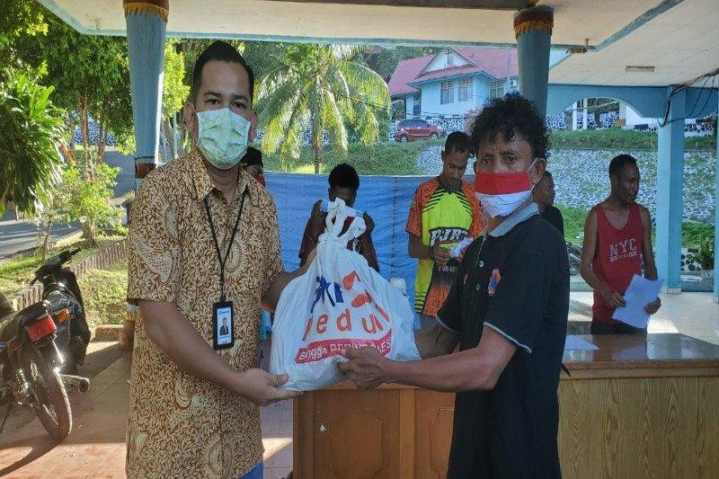 BRI Papua bantu korban kebakaran Dok IX