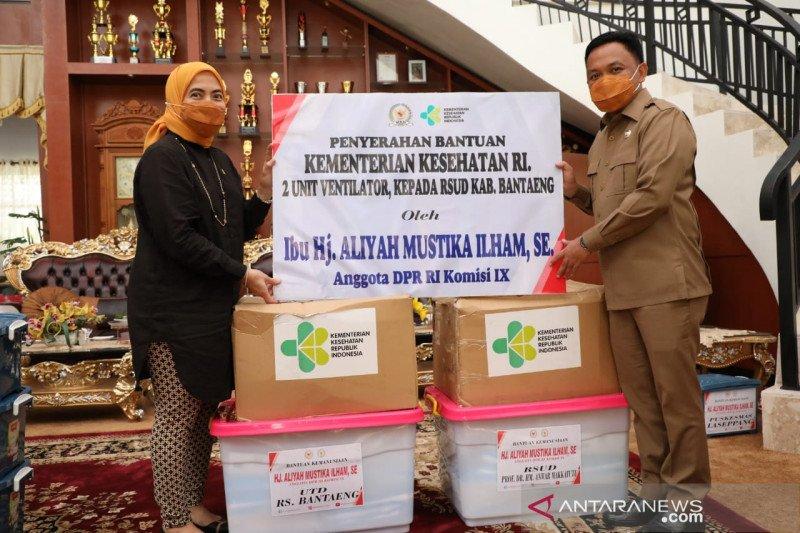 Anggota DPR RI  salurkan bantuan peralatan kesehatan untuk Pemkab Bantaeng
