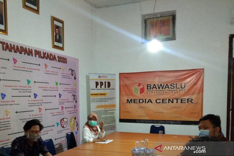 Bawaslu Bantul perpanjang pendaftaran pengawas TPS Pilkada