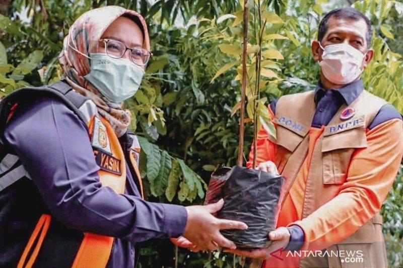 Kepala BNPB hingga Bupati Bogor tanami hulu Sungai Ciliwung ribuan pohon
