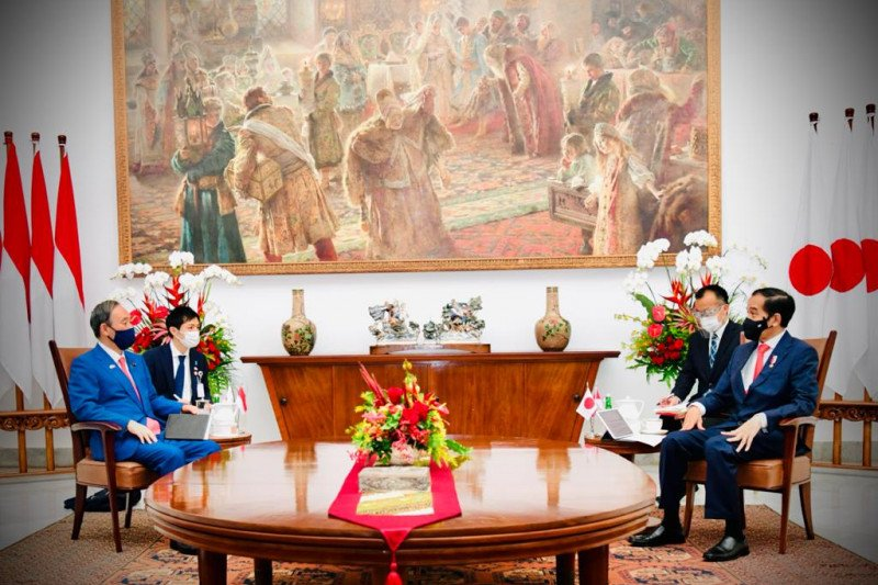 Indonesia-Jepang perkokoh kemitraan strategis