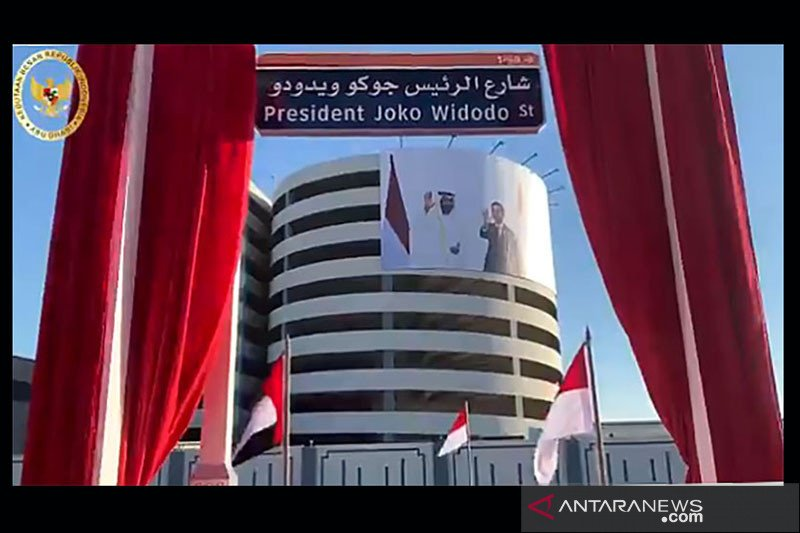 Joko Widodo Street in UAE is honor for Indonesia: President