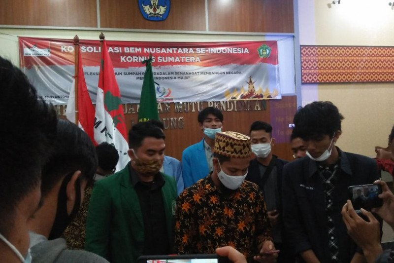Polemik UU Ciptaker, BEM Nusantara ajak elemen bangsa tahan diri