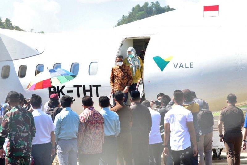 Gubernur Sulsel minta Bandara Sorowako Lutim diserahkan ke pemprov