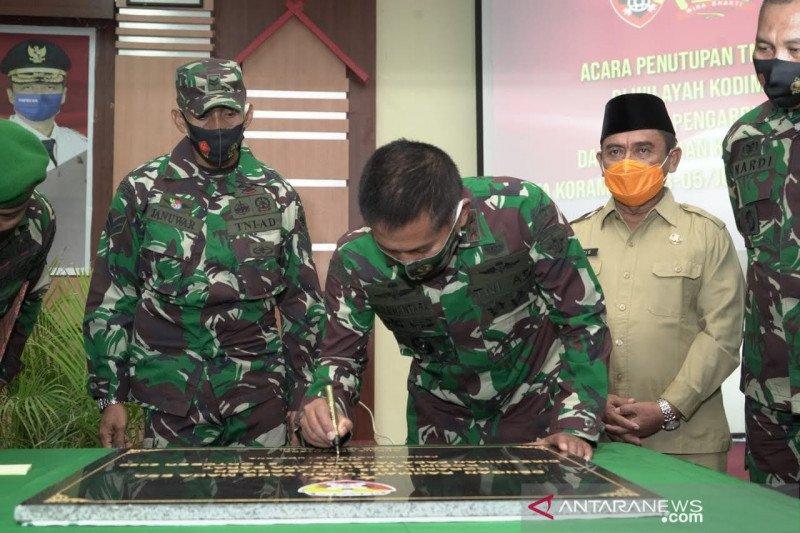 Pangdam IX/Udayana meresmikan dua Koramil di Sumbawa Barat