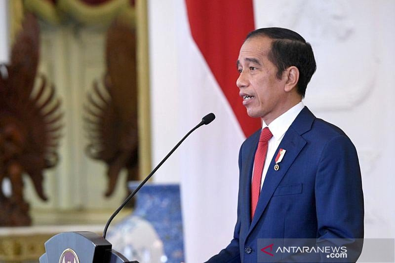 Presiden Jokowi minta kepala daerah sampaikan